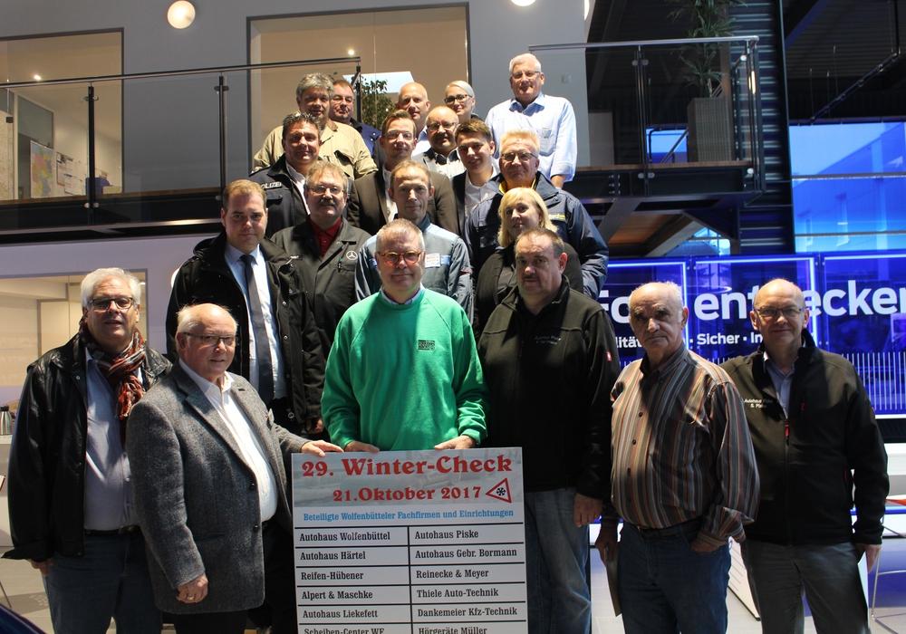 Die Ausrichter und Partner des 29. Winterchecks freuen sich auf die Besucher. Foto: Anke Donner