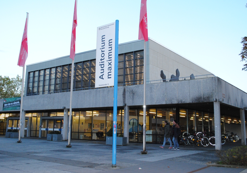 Der Audimax der TU Braunschweig. Foto: Archiv/Sina Rühland