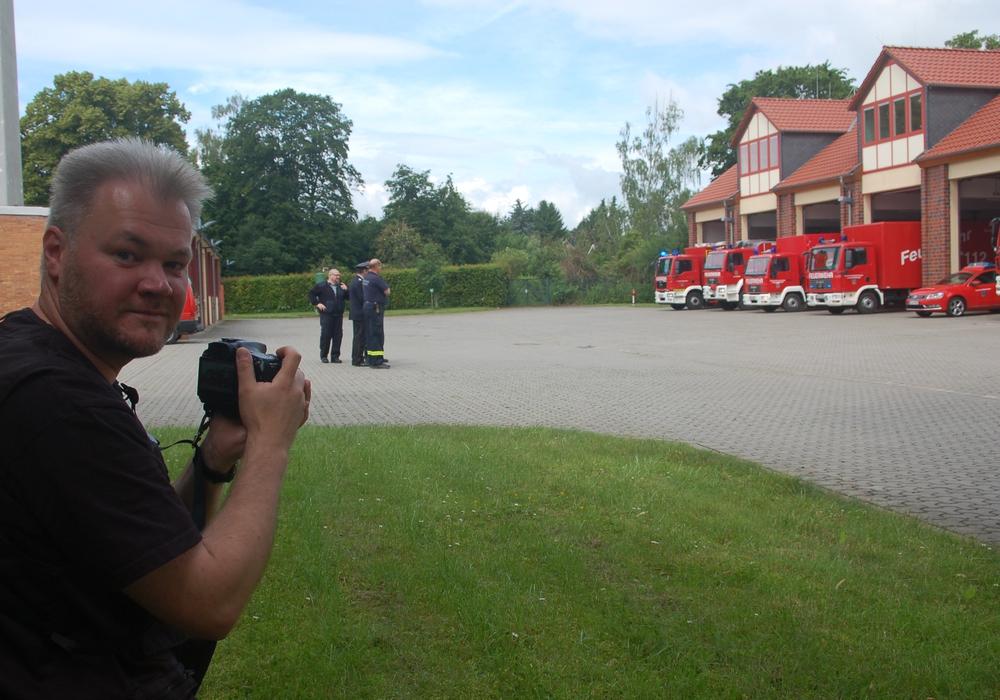 Für drei Tage besuchte Redakteur Sven Buchenau vom Feuerwehr-Magazin aus Bremen die Gemeinde Schladen-Werla, genauer gesagt deren freiwillige Feuerwehr, Foto: privat
