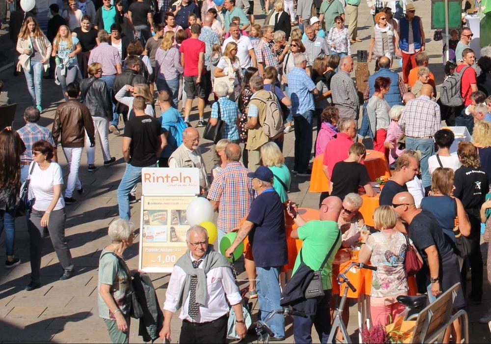 Die Stadt geht davon aus, dass auch die Veranstaltungen an sich Besucherströme in die Innenstadt locken. Archivbild