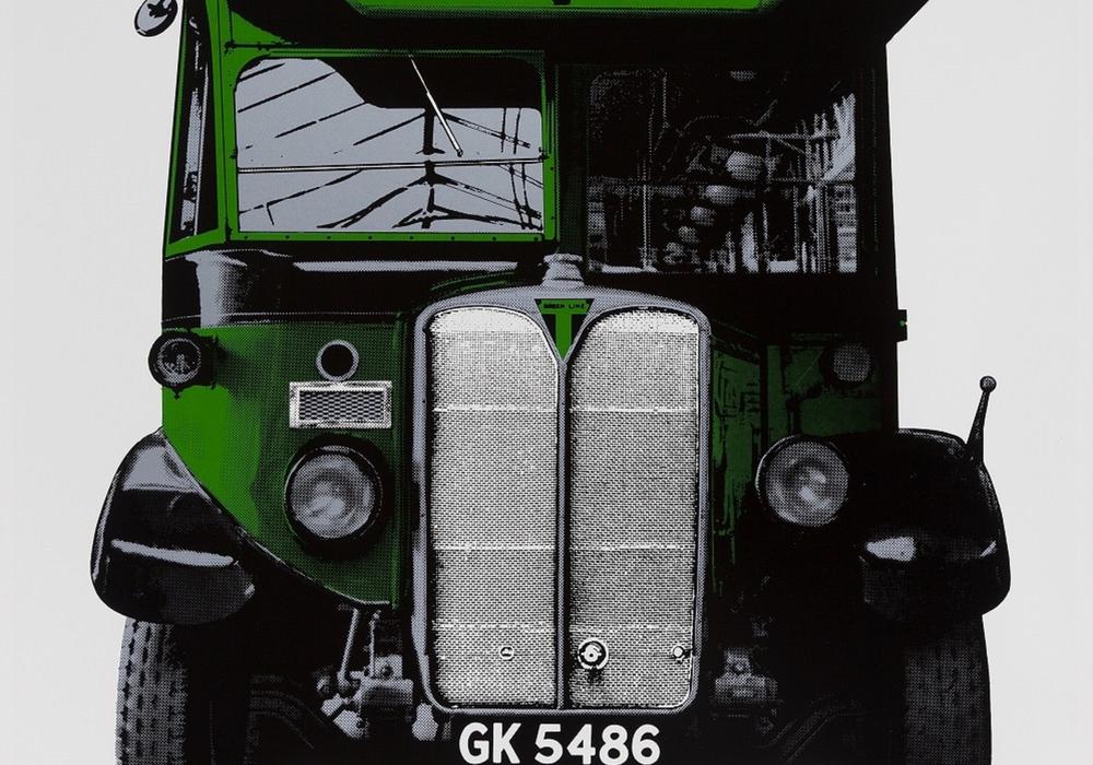 Gerd Winner, London Transport, 1969/70, Siebdruck, 104,5 x 79 cm. Foto: Städtisches Museum Braunschweig, Dirk Scherer