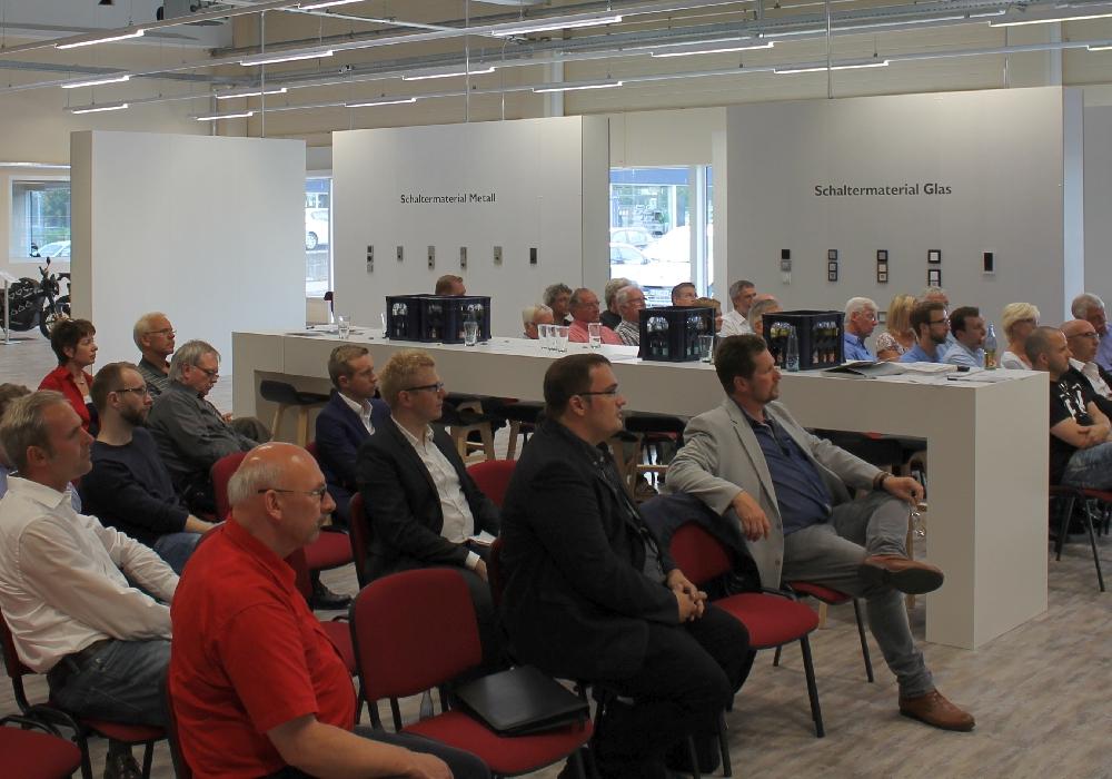 """Über 30 Teilnehmer beim """"Unternehmergespräch ENERGIE"""" am 1. September . Foto: Landkreis Goslar"""