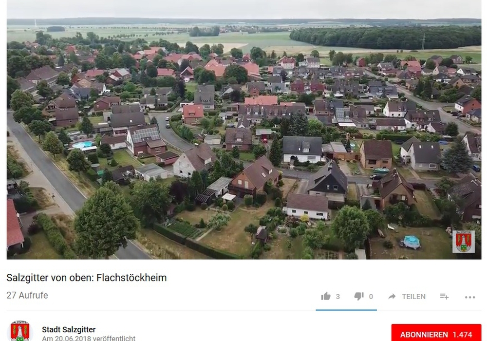 Screenshot: Stadt Salzgitter