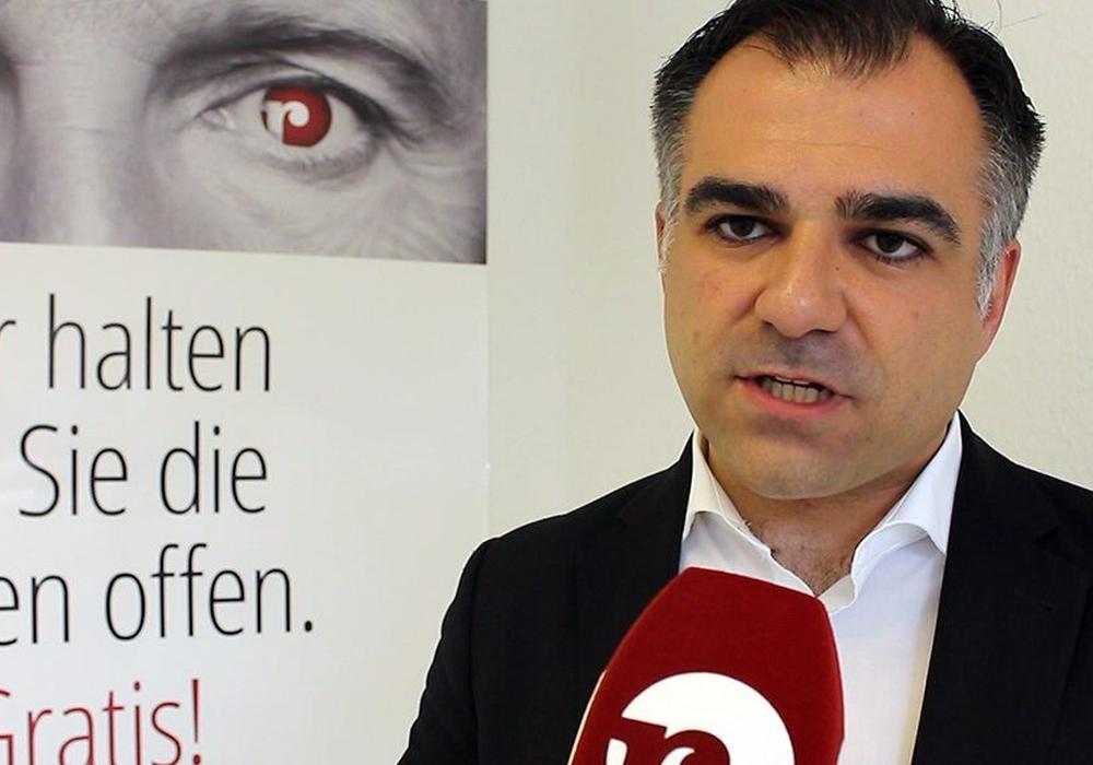 Dr. Christos Pantazis freut sich über Förderung für die das Kultur- und Kommunikationszentrum Brunsviga. Foto: regionalHeute.de