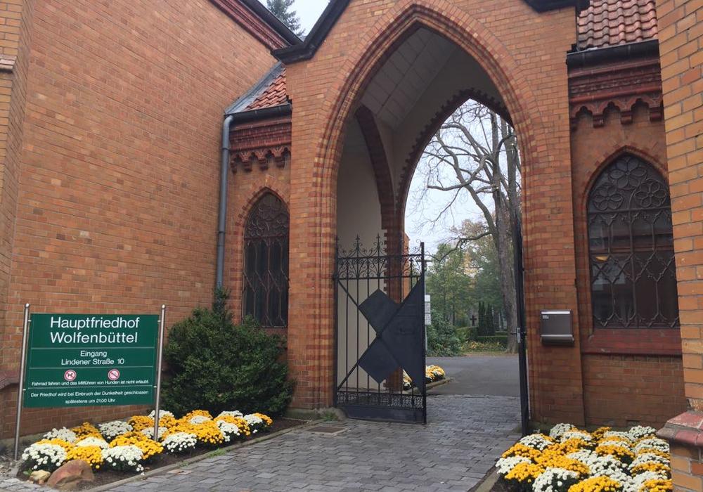 Der Hauptfriedhof in Wolfenbüttel.