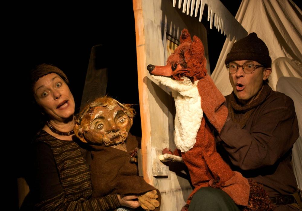 """Das Theater Fadenschein zeigt am Sonntag das Stück """"Es klopft bei Wanja in der Nacht"""". Foto: P. Wolters"""