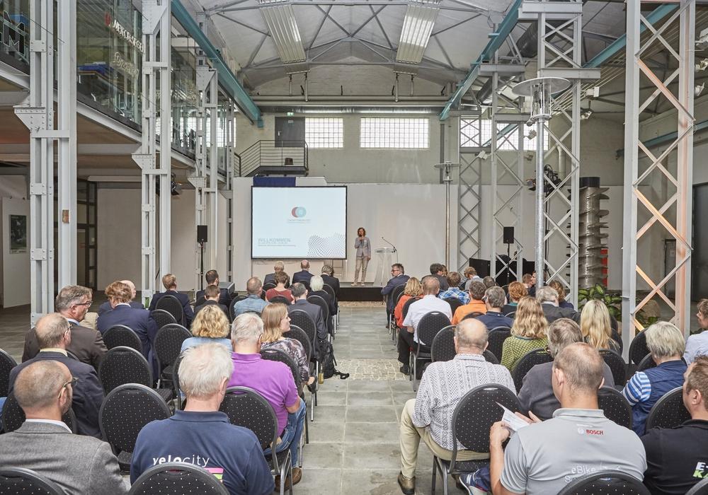 Am 2. Juni trafen sich die Experten und Fachinteressierten in Braunschweig zum ersten Fahrradkongress der Region. Foto: Allianz für die Region GmbH