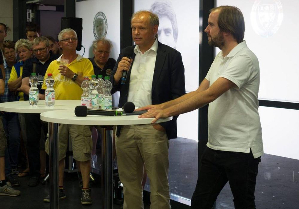 Sebastian Ebel stellte sich auch den unbequemen Fragen. Foto: Bernhard Grimm