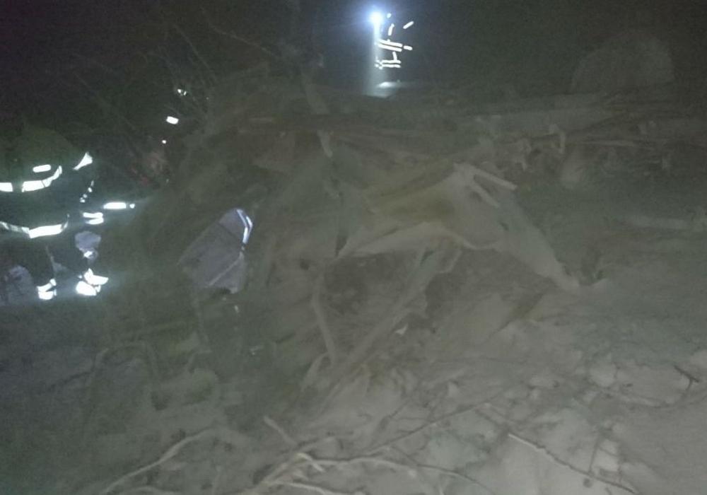 Die Absturzstelle am Ith-Höhenzug. Foto: Polizeiinspektion Hameln-Pyrmont/Holzminden