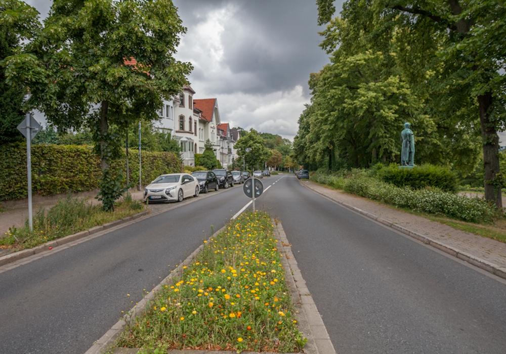 Die Bismarckstraße. Foto: Alec Pein
