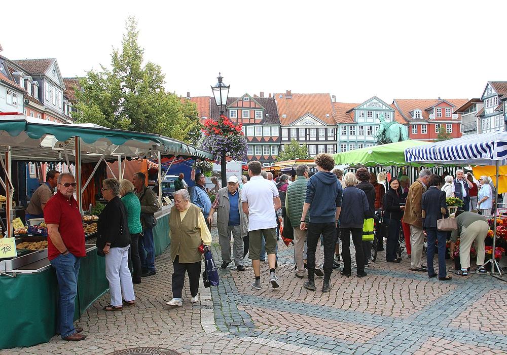Der Wochenmarkt soll einmalig auf dem Stadtmarkt stattfinden.