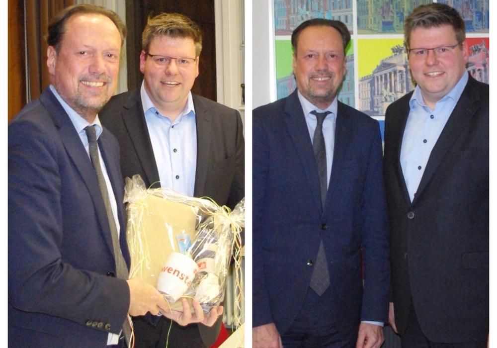 Wollen mehr Kooperation zwischen Braunschweig und Hannover: Dirk Toepffer und Thorsten Köster. Fotos: CDU