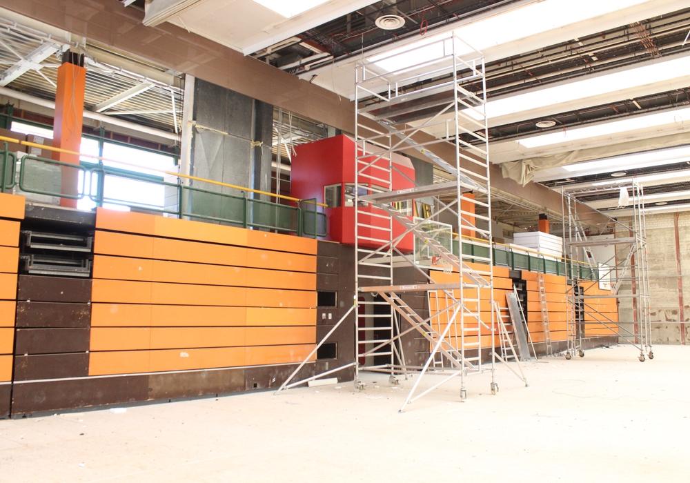 Die Dreifeldsporthalle am Alsterplatz wurde bereits 2016 saniert. Foto: Archiv/Anke Donner