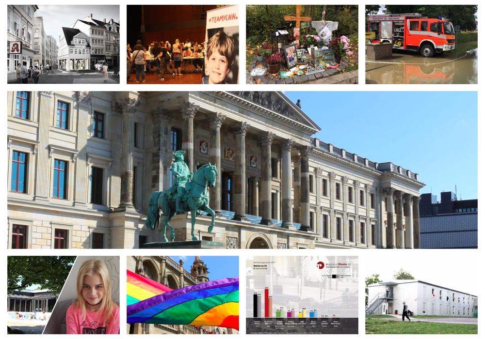 regionalHeute.de blickt auf das Jahr 2017 zurück. Foto-Collage: Anke Donner