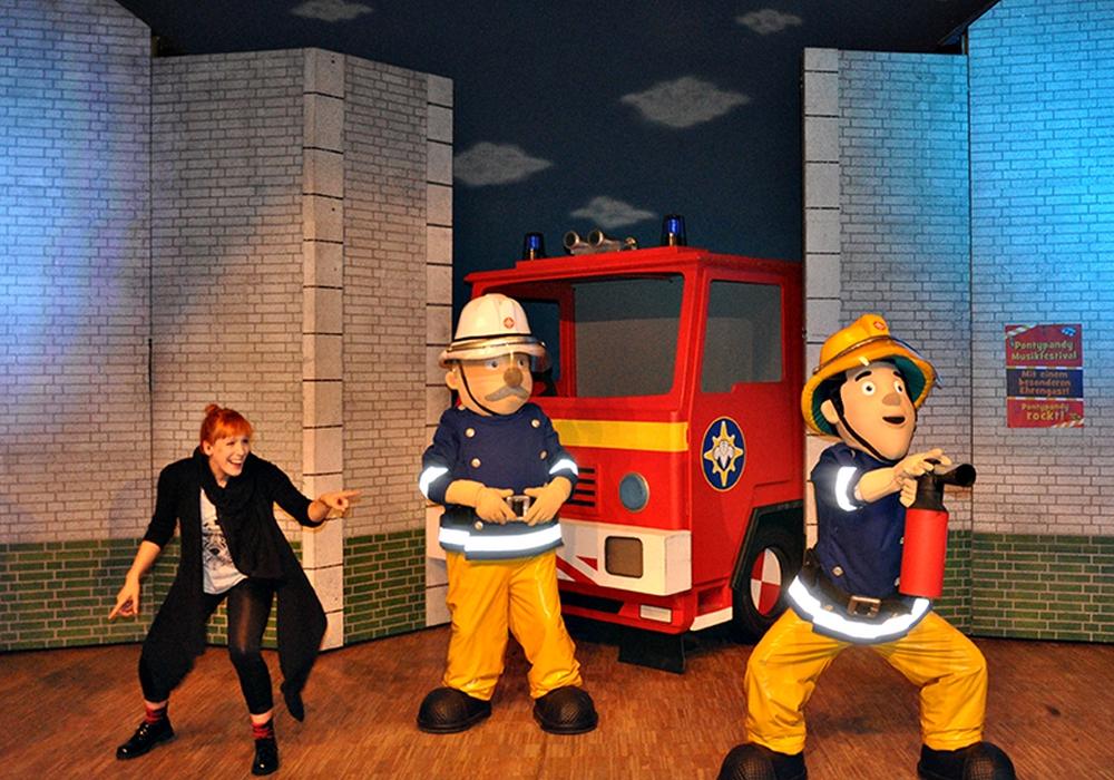 Das Kindermusical um Feuerwehrmann Sam, dass im Rahmen des Aktionstages aufgeführt wird, ist bereits ausverkauft. Die übrigen Aktionen stehen aber weiter allen Gästen offen. Foto: Stadthalle Gifhorn/ Stefanie Volkmar