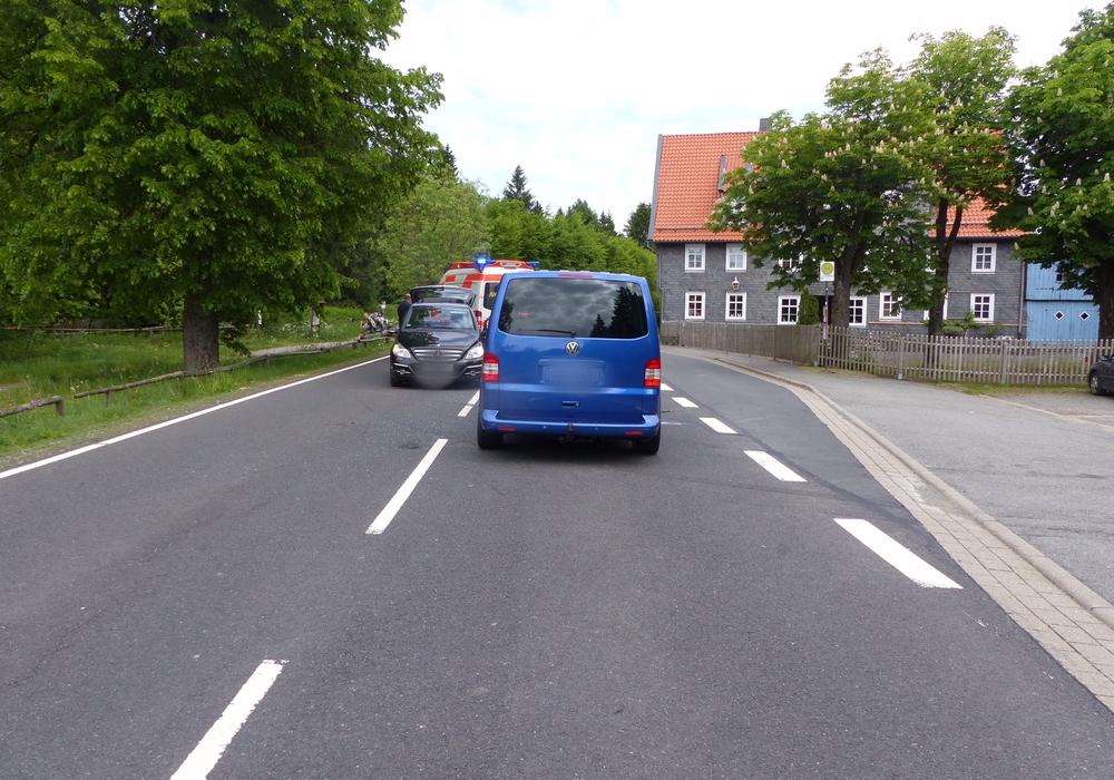 Drei Personen wurden bei dem Zusammenstoß verletzt. Foto: Polizei Oberharz