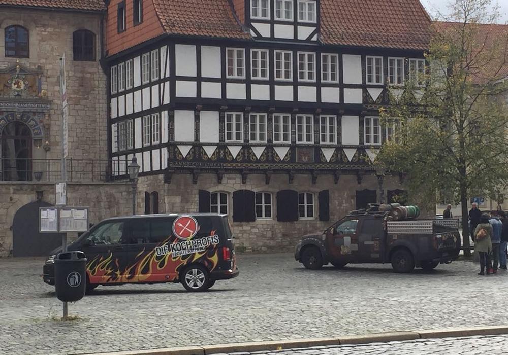 Die Kochprofis drehten in Braunschweig. Foto: Anke Donner