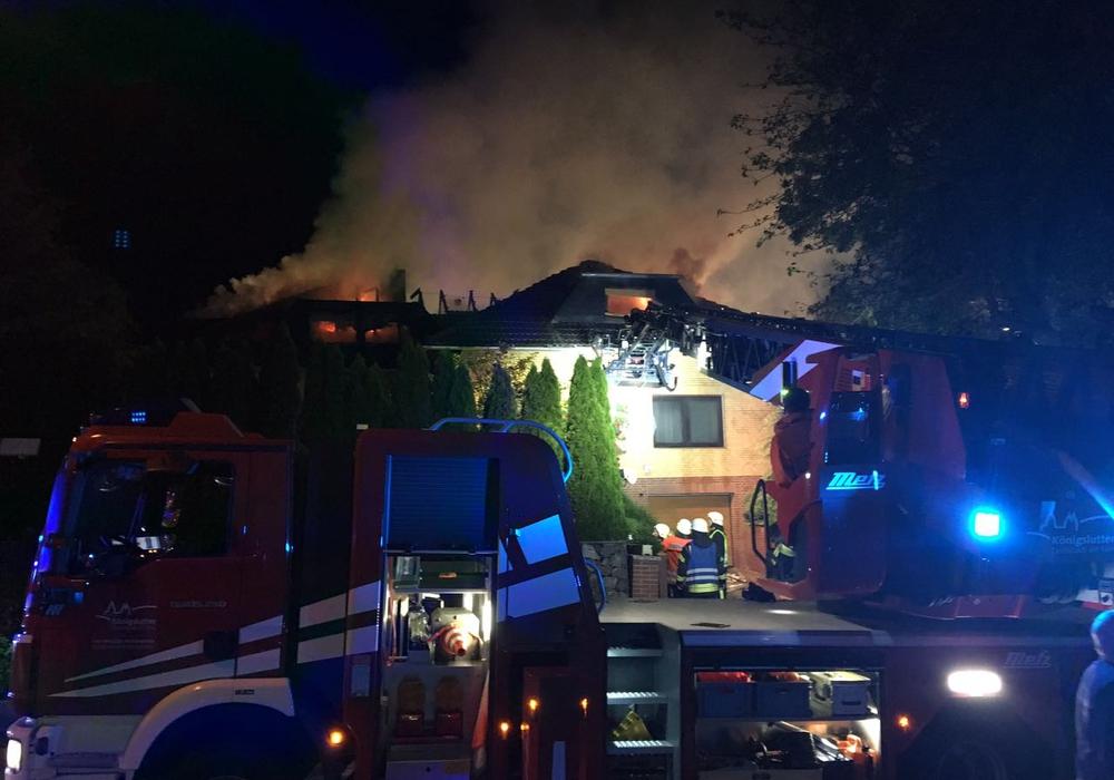 Die Ermittlungen zur Brandursache dauern an. aktuell24/BM