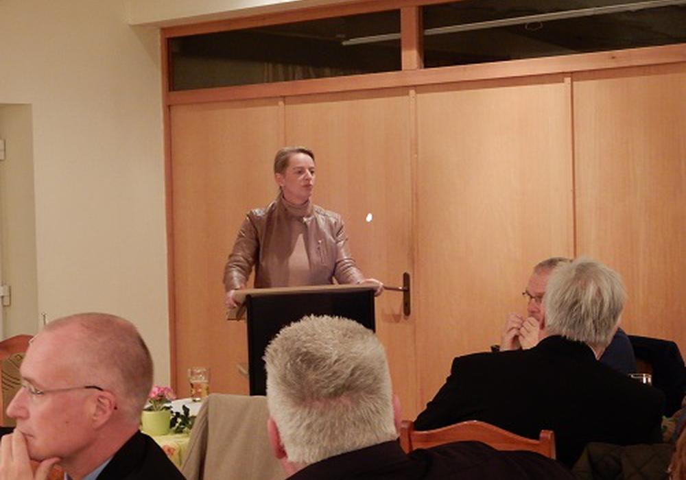 Dana Guth war eine der Gastredner. Foto: AfD
