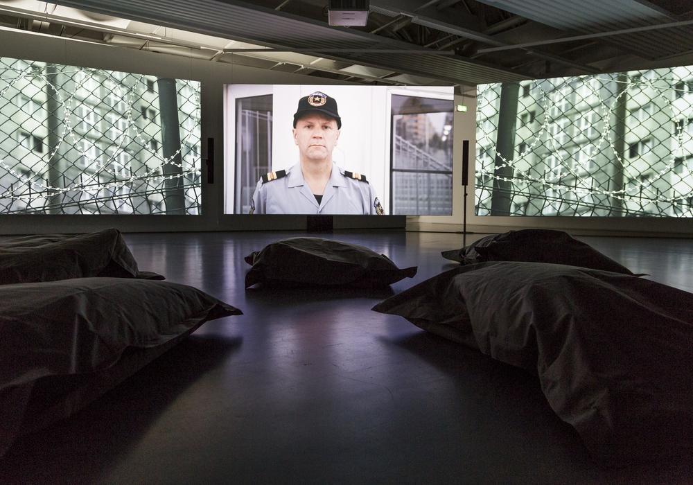 Zur Ausstellung von Bjørn Melhus wird ein Filmworkshop für Kinder angeboten. Foto: Stadt Braunschweig/Daniela Nielsen