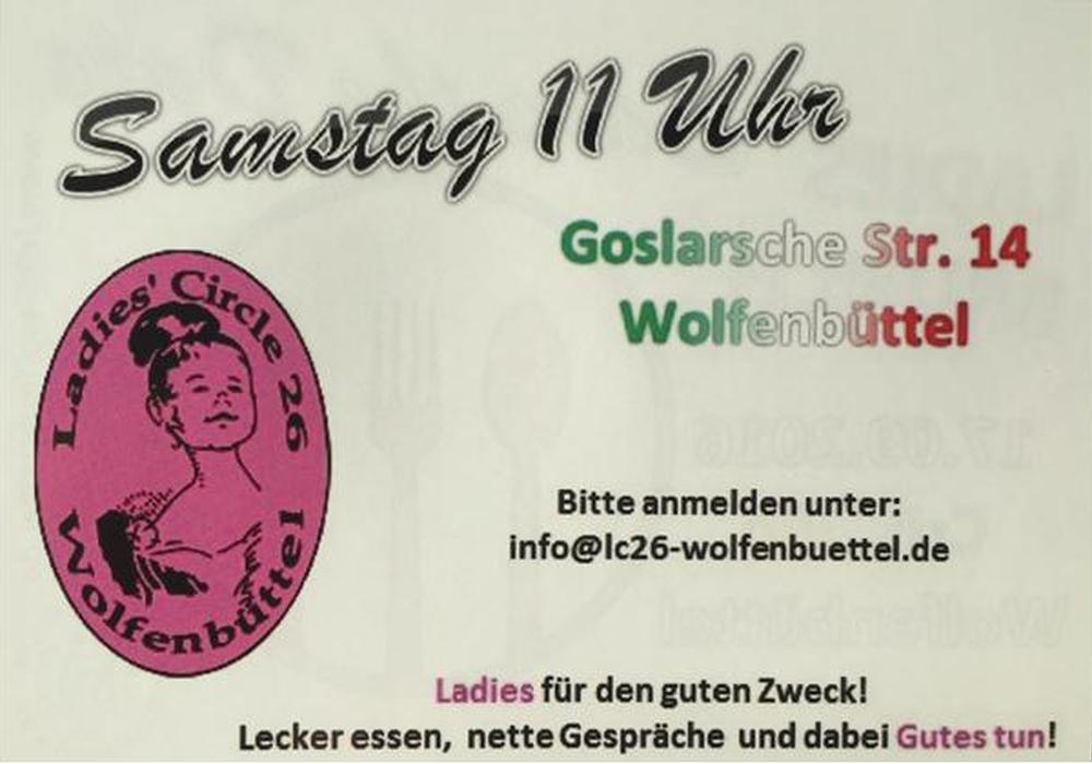 Der Ladies Circle 26 Wolfenbüttel veranstaltet am 17.09.16 um 11h zum zweiten Mail einen Ladies Brunch nur für Frauen.  Foto: privat
