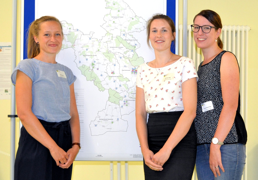 Das Organisationsteam der Auftaktveranstaltung. Foto: Landkreis Helmstedt