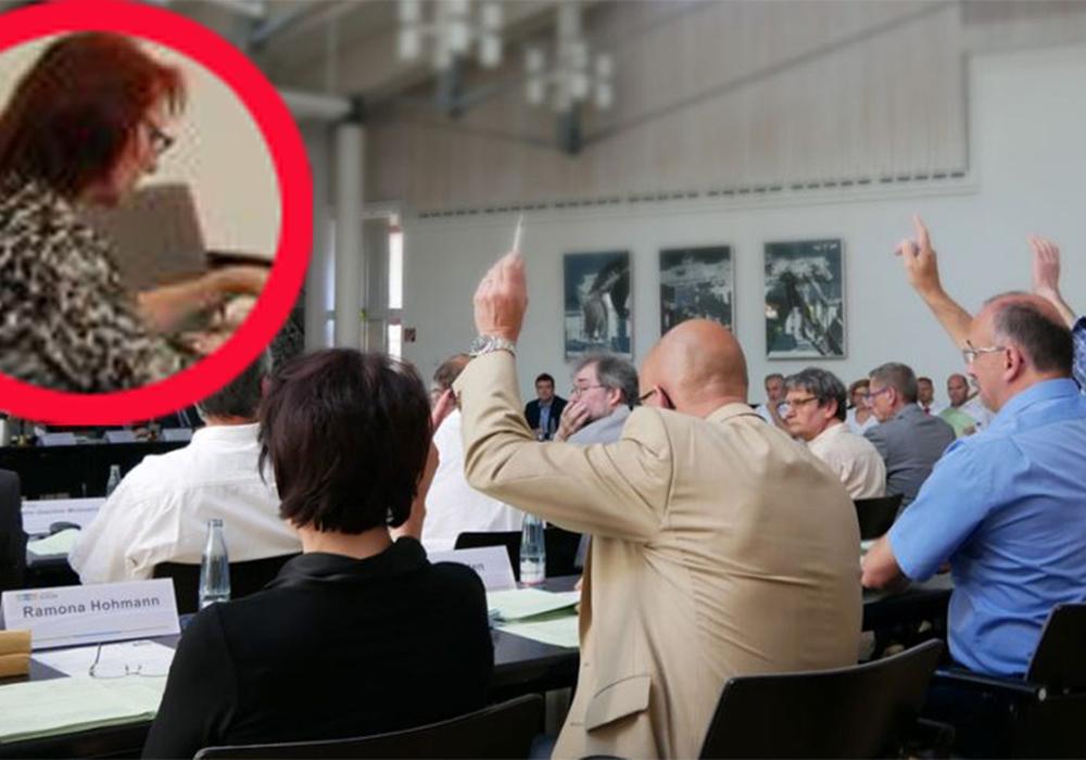 "Erika Lauterbach (kl. Foto) klagt ihre ehemaligen AfD-Fraktionskollegen wegen ""Stasi-Methoden"" an. Fotos: Alexander Panknin"