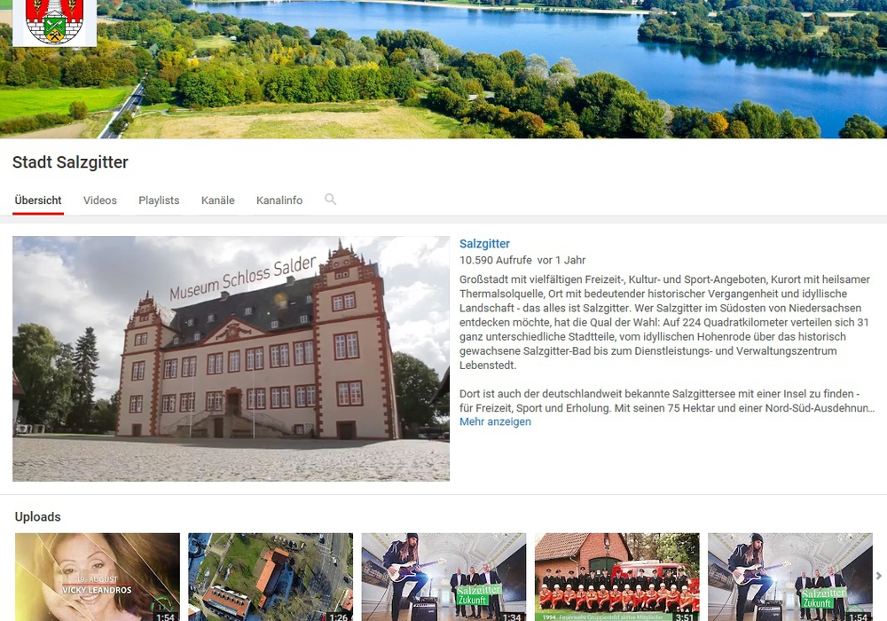 Foto: Bildschirmdruck/Stadt Salzgitter