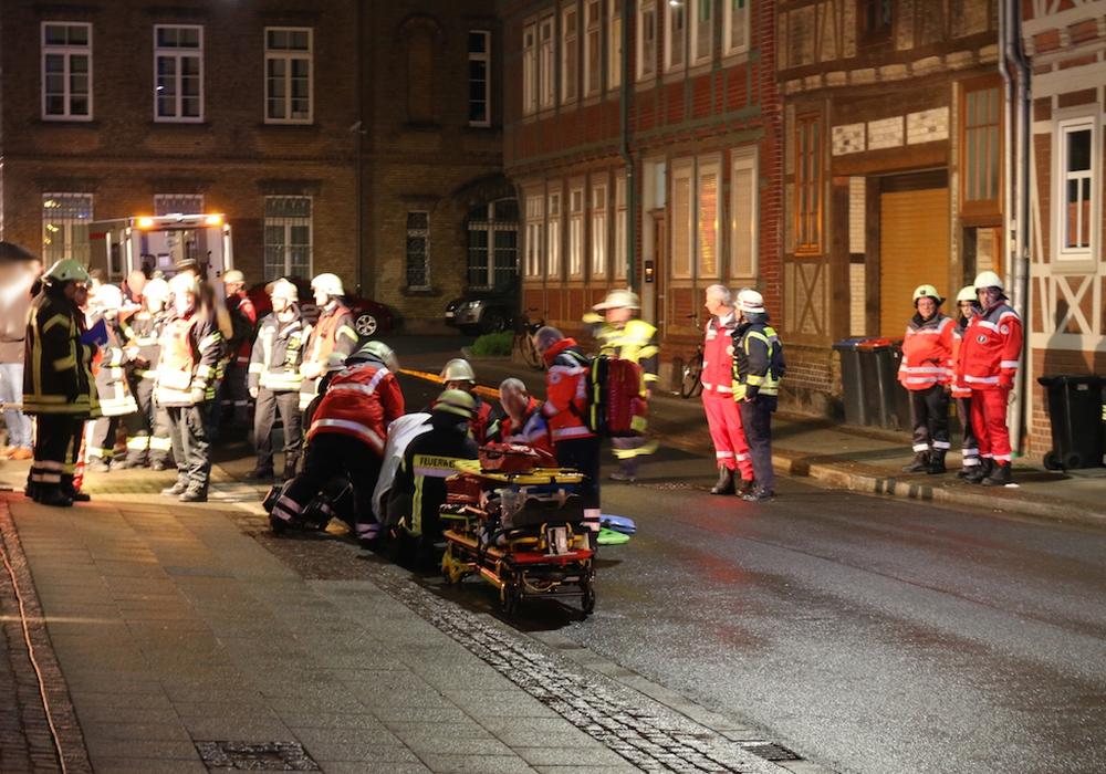 Nach dem Balkonabsturz im vergangenen Jahr hat die Staatsanwaltschaft neue Ermittlungsansätze. Foto/Video: Werner Heise