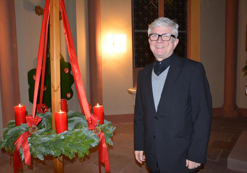 Pastor Bähr gestaltete den Abend dieses Jahr alleine. Fotos: Evangelisch-Lutherischer Kirchenkreis Peine