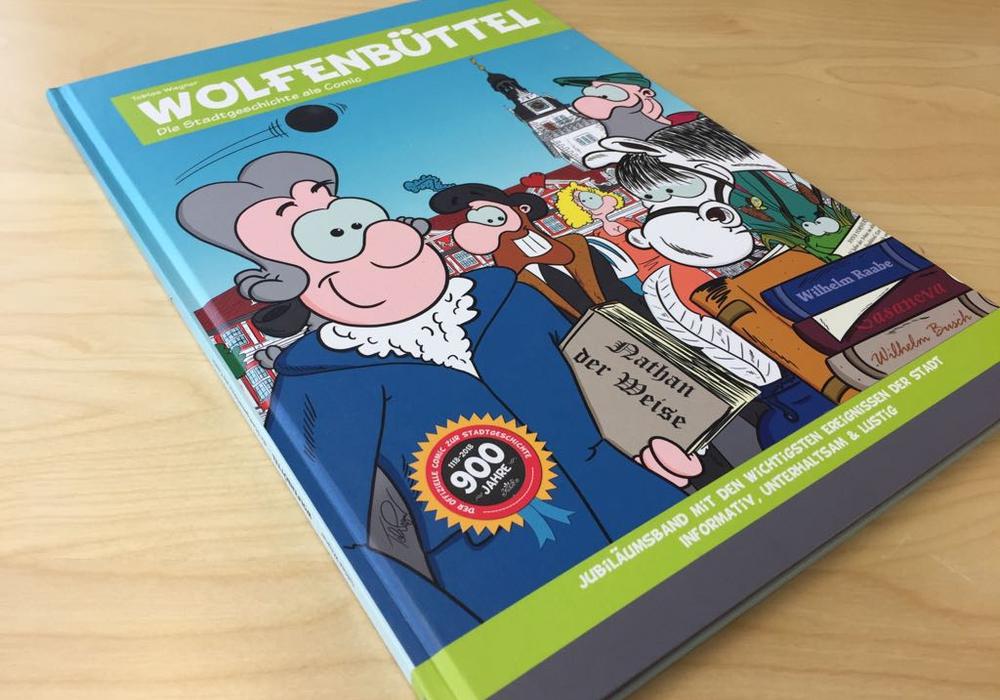 """Ginge es nach der FDP im Rat der Stadt, sollte die Stadt Exemplare des Jubiläumsbandes """"Wolfenbüttel – Die Stadtgeschichte als Comic"""" an allen Wolfenbütteler Schulen kostenlos zur Verfügung stellen. Foto/Video: Anke Donner"""