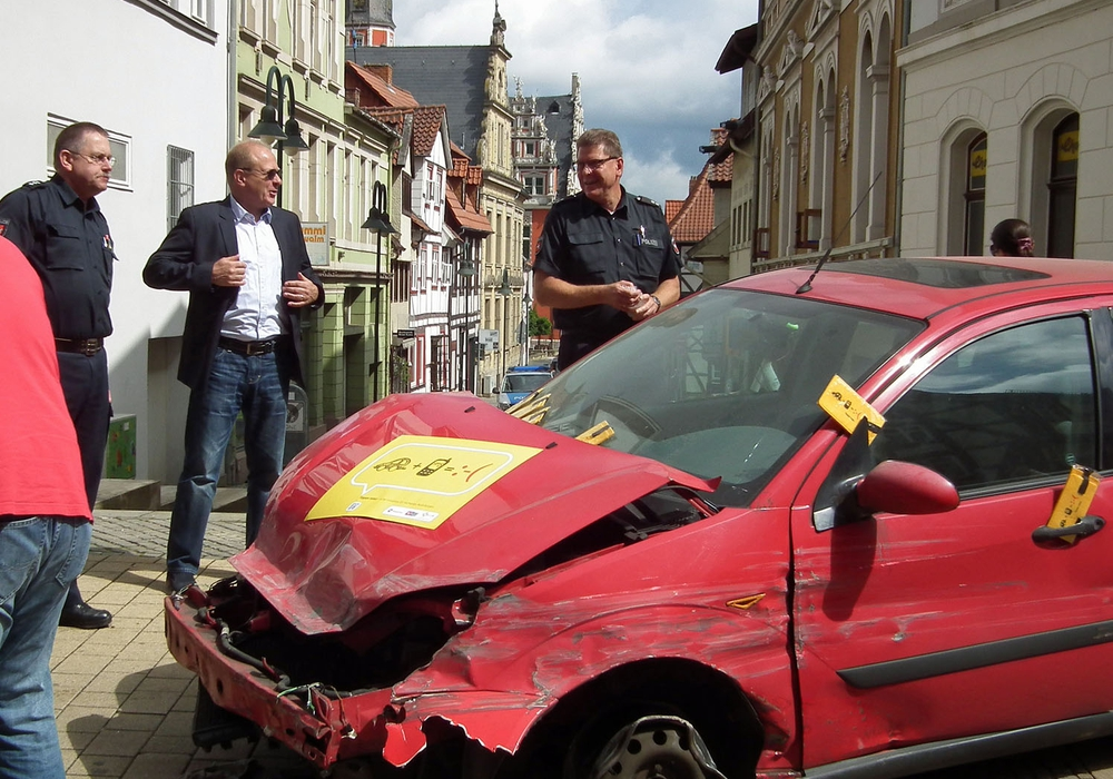 Tippen tötet. Foto: Verkehrswacht Helmstedt