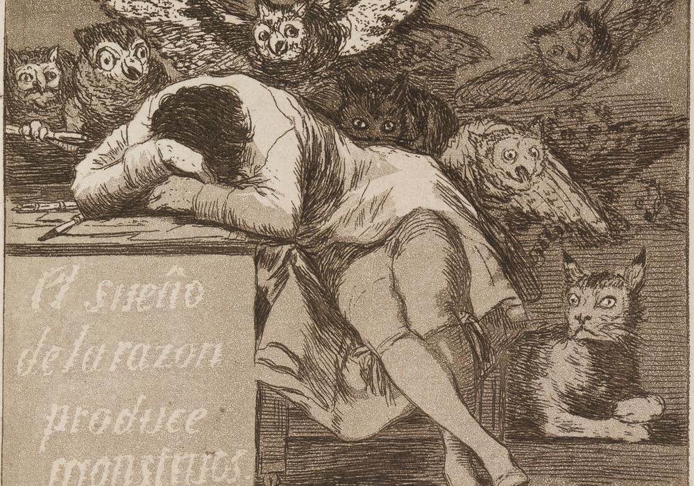 El sueño de la razón produce monstruos (Der Schlaf der Vernunft gebiert Ungeheuer), Foto: C. Cordes, Herzog Anton Ulrich-Museum