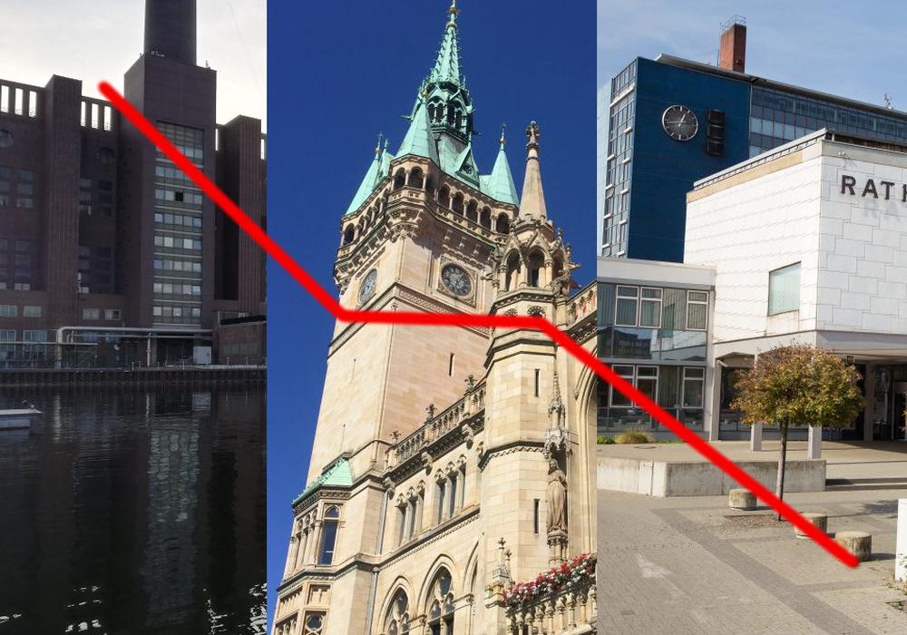 Drei Städte, drei unterschiedliche Ergebnisse. Foto: regionalHeute.de