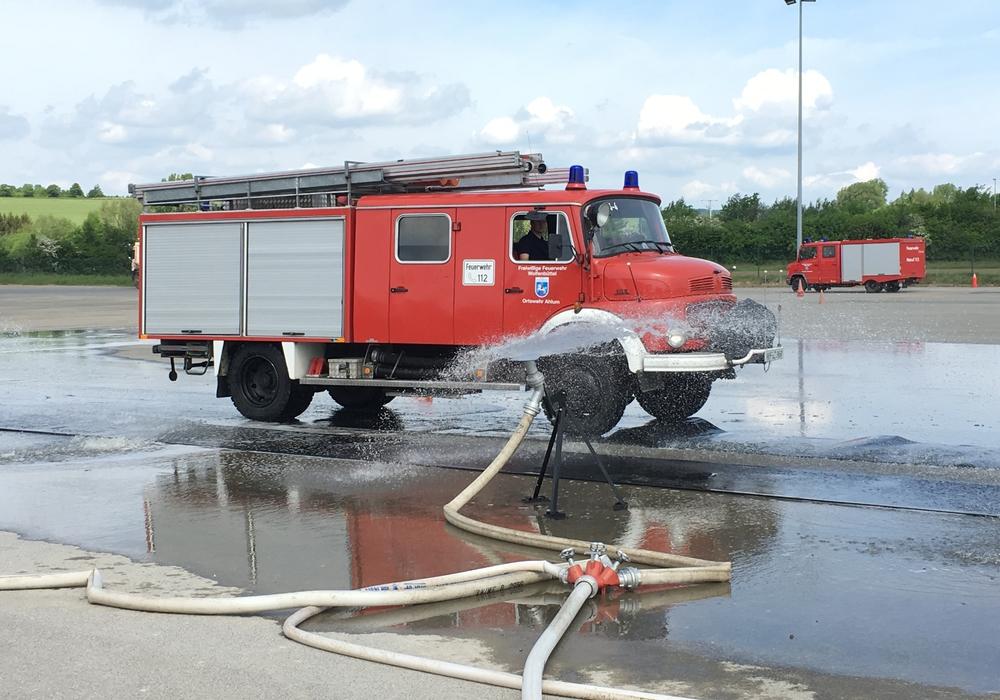 Fahrsicherheitstraining für die Feuerwehr, Foto: privat