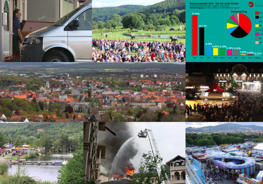 regionalHeute.de blickt auf das Jahr 2016. Heute: Teil drei. Foto-Collage: Anke Donner