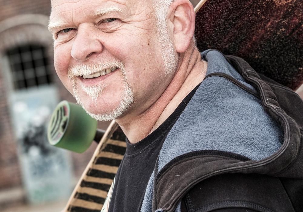 Bernd Gieseking nimmt das Älterwerden mit Humor. Foto: Privat