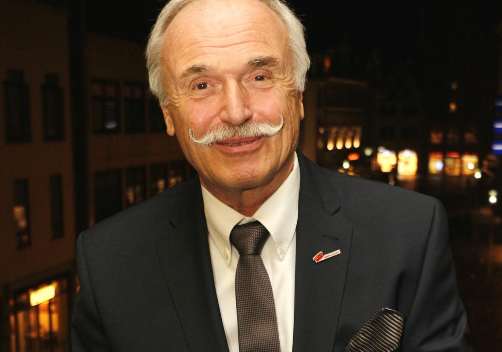 Helmut Streiff, Präsident der IHK Braunschweig sucht den Schulterschluss mit der IHK Wolfsburg-Lüneburg. Foto: Archiv/S. Nickel