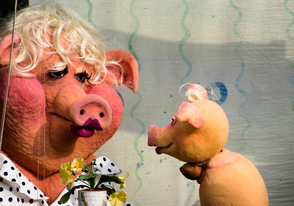 """Das Theater Fadenschein zeigt das Stück """"Peppino und Peperoni"""". Foto: Günter Wolters"""