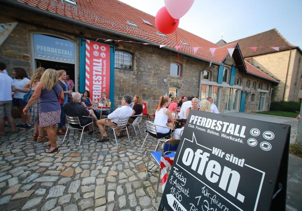 Das Kulturcafé Pferdestall hilft beim Railside-Festival. Foto: Nico Jäkel