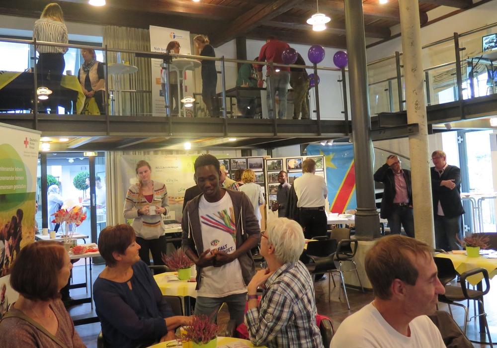 Der Tag des Flüchtlings bildete die zentrale Veranstaltung der interkulturellen Woche. Fotos: Landkreis Wolfenbüttel