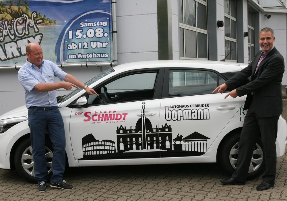 """Beim Kauf eines Hyundai i20 """"ROM Edition"""" eine Romreise gewinnen. Foto: Privat"""
