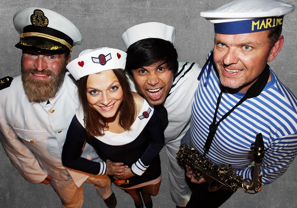 Das Schlager-Quartett kommt nach Salzgitter. Foto: Top Union