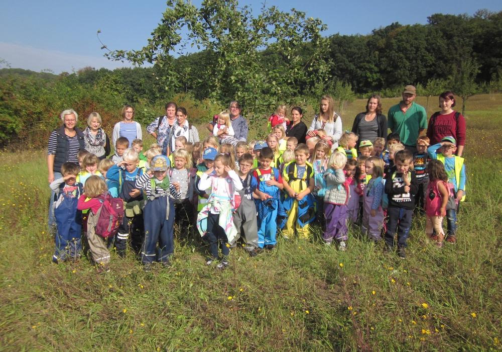 Remlinger KiTa – Kinder sammelten Äpfel, Foto: privat