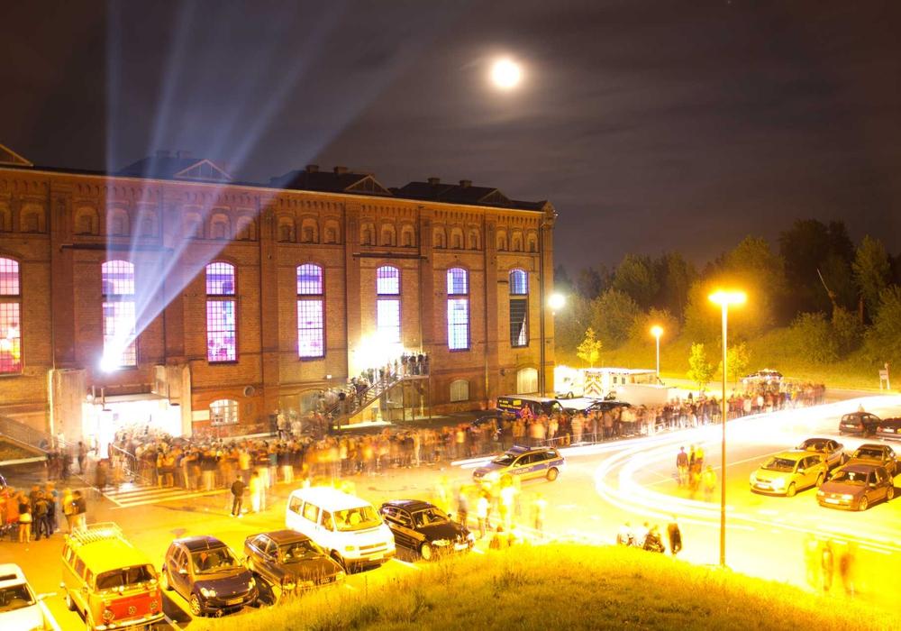In der Gebläsehalle ist an diesem Wochenende Ü30-Party. Foto: wito
