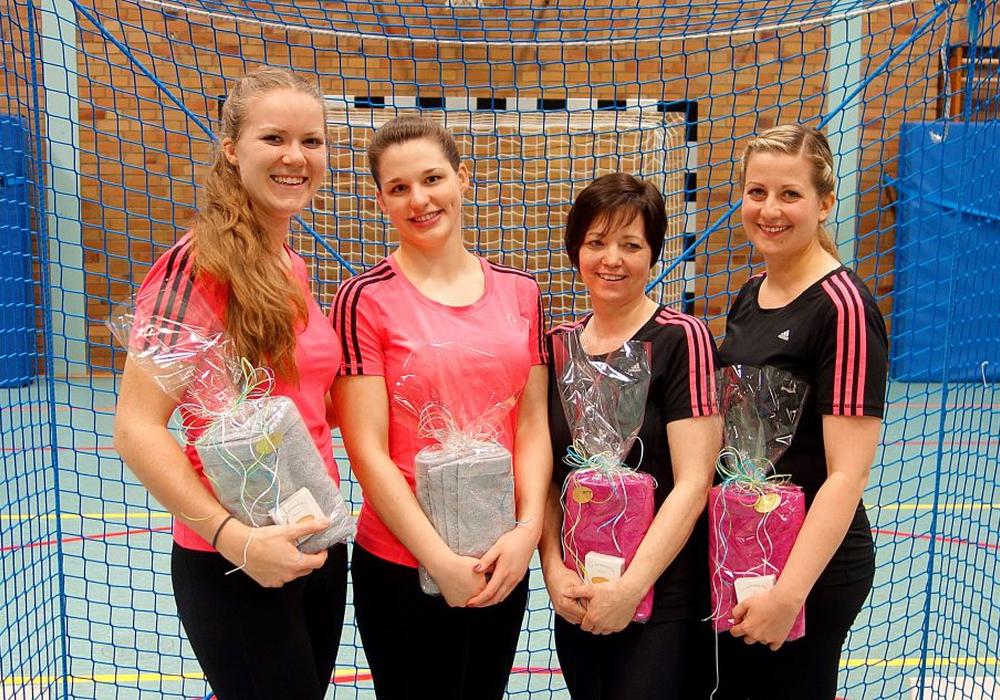 Die Spielerinnen des RSV Frellstedt beim Deutschlandpokalfinale in Wetzlar. Fotos: Sarah Radtke