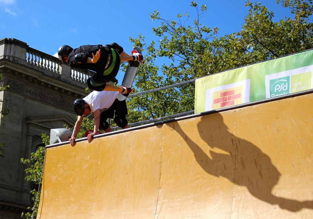 Unter anderem die Skater zeigen beim trendsporterlebnis ihr Können. Foto: Archiv/Sina Rühland