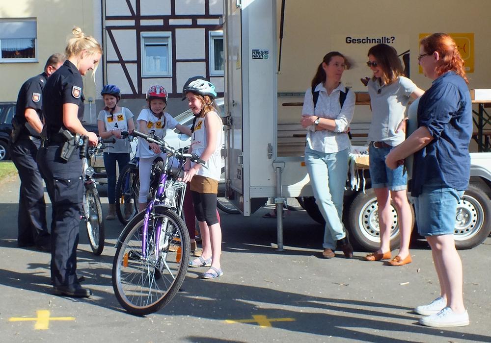 Das ADAC-Fahrradturnier findet auf dem Schützenplatz in Jerxheim statt. Foto: Archivfoto Verkehrswacht