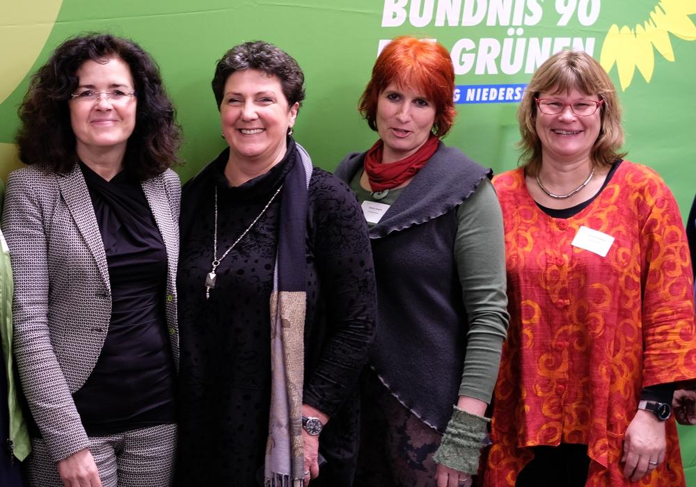 Die Grünen waren zu Besuch im Landtag. Foto: Die Grünen