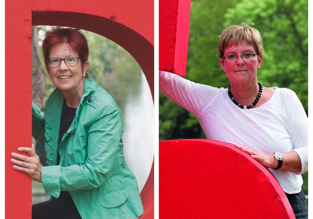 Dörthe Weddige-Degenhard und Inge Ermert. Fotos: SPD